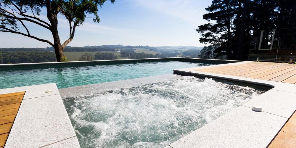 infinity pool backyard. Pool Buyer\u0027s Advice Infinity In Your Backyard E